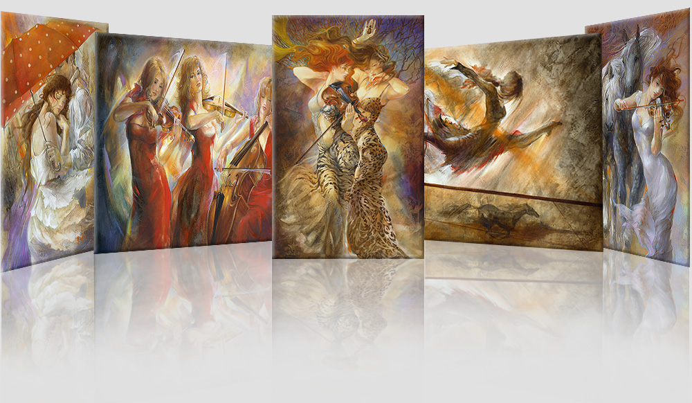 Lena Sotskova paintings